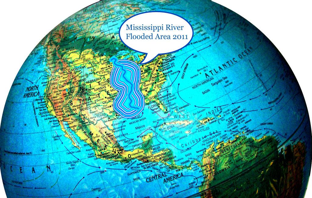 mississippi river map. Mississippi River