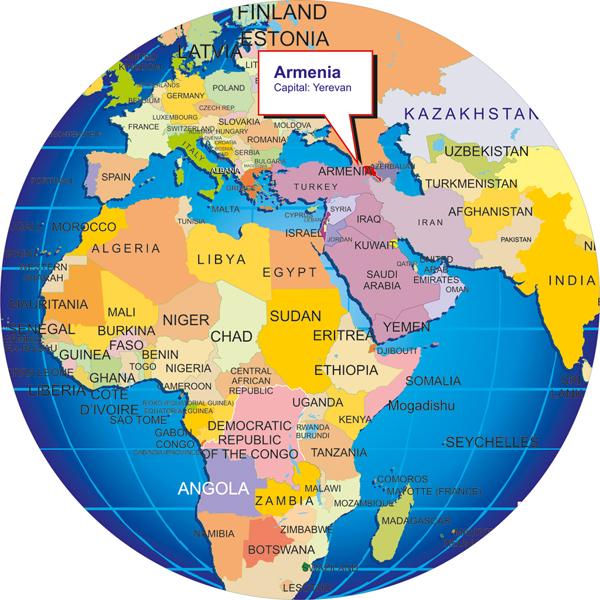 Where Is Armenia - Where is armenia