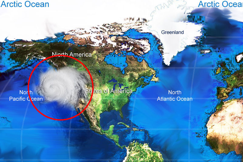 Washington Snow Storm Location Map World Map - Us snow storm map