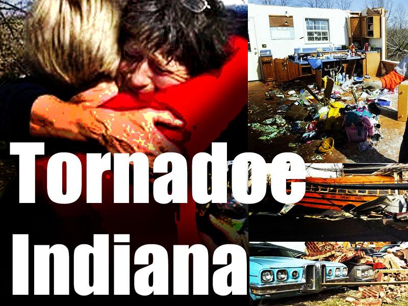 tornado Indiana US 2012