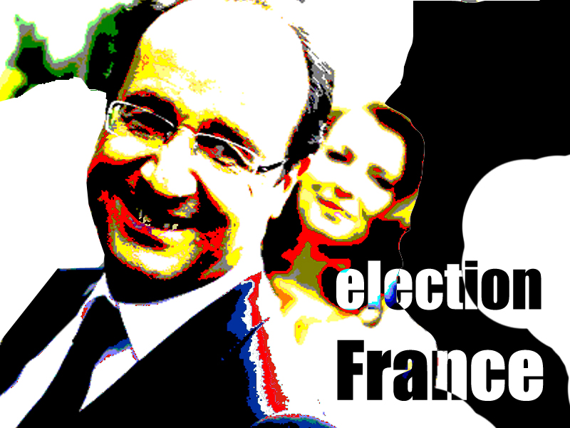 Francois Hollande during election France 2012