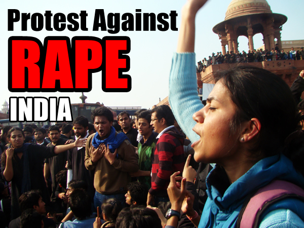 India People Protestn against rapists