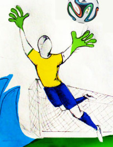 Fifa world cup illustration