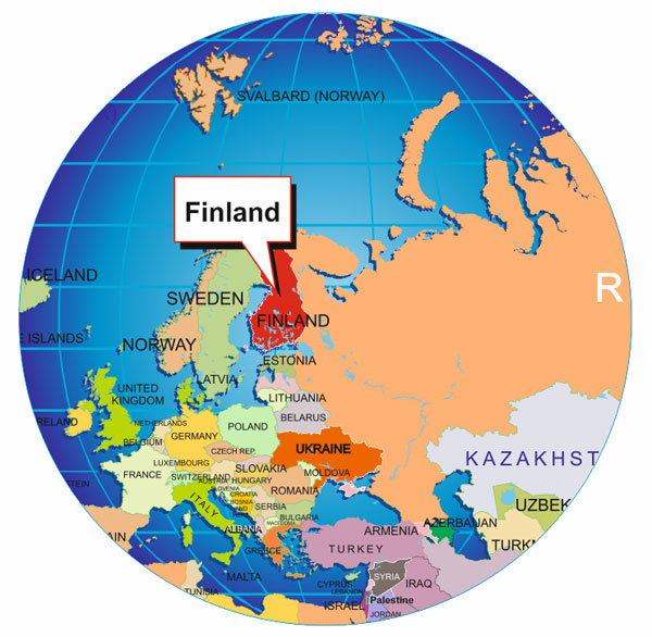 Where Is Latvia On The World Map.Where Is Finland