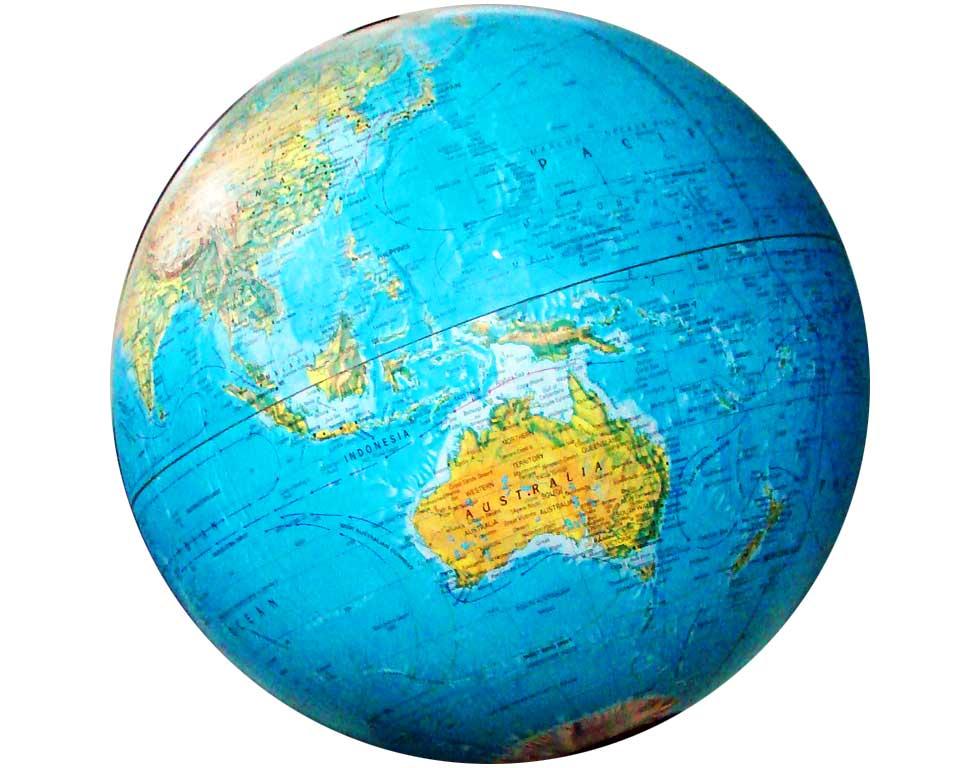 globe of australia