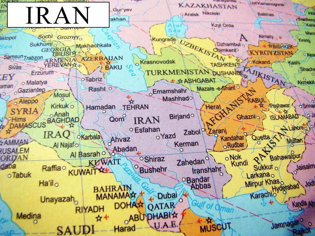 Iran On Map Of World.Iran Map