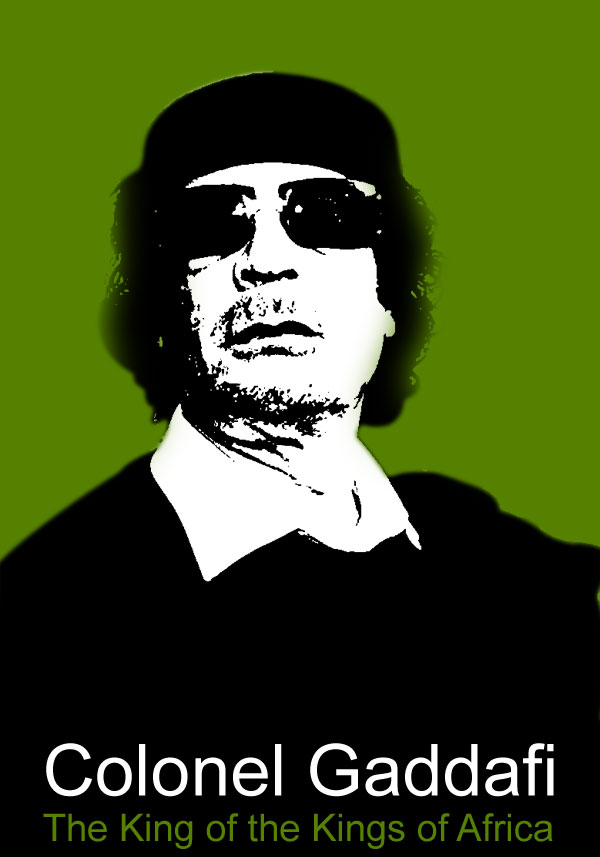 Colonel Gaddafi, The President of Libya Gaddafi was upset by the defeat of