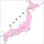 Japan Outline Map