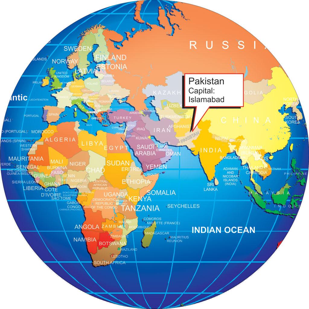 Where Is Pakistan Location Map Pakistan - Where is pakistan