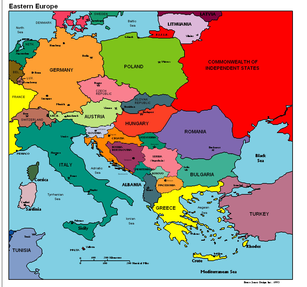 Eastern europe political map gumiabroncs Images