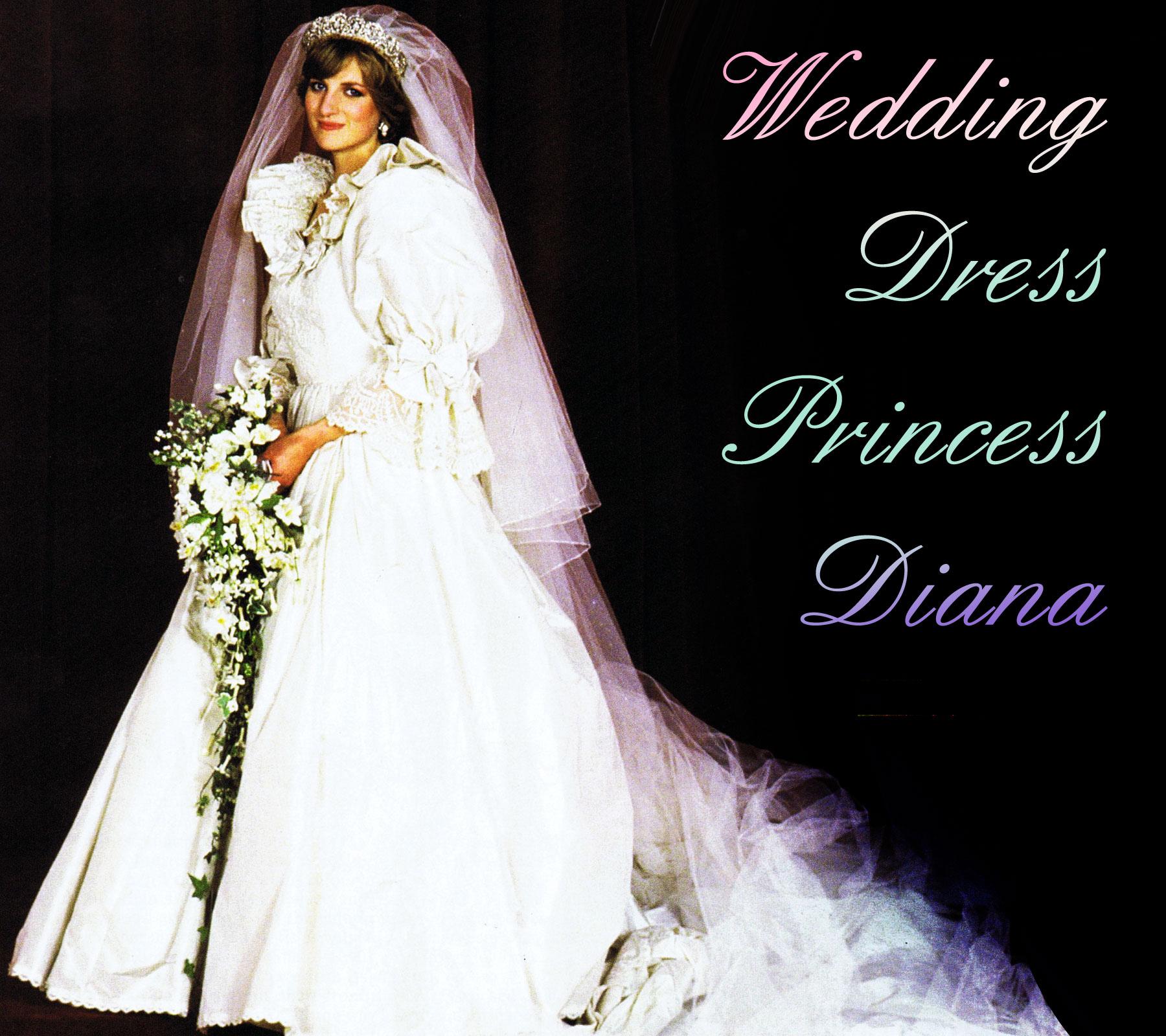 wedding dress princess diana