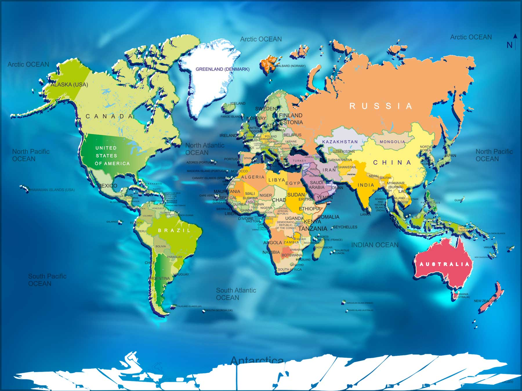 World map big size the big size world map showing details listed on the world map very clearly one can use this bigger size world map for different purpose we created this gumiabroncs Gallery