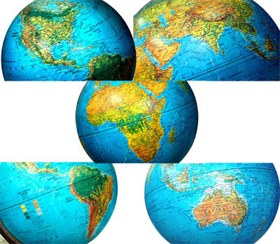 world map political high resolution. World Map Globe