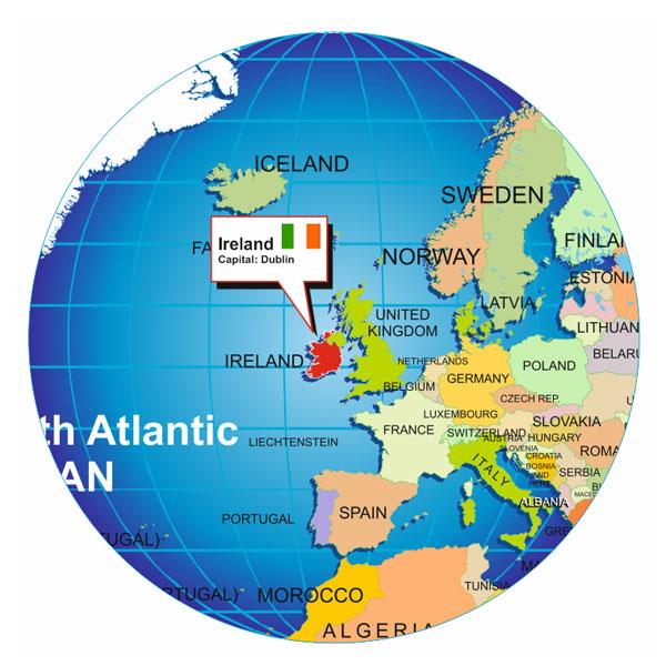 Where is Ireland