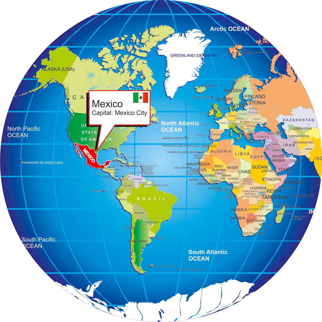 Where Is Mexico On The Map Where is Mexico? Where Is Mexico On The Map