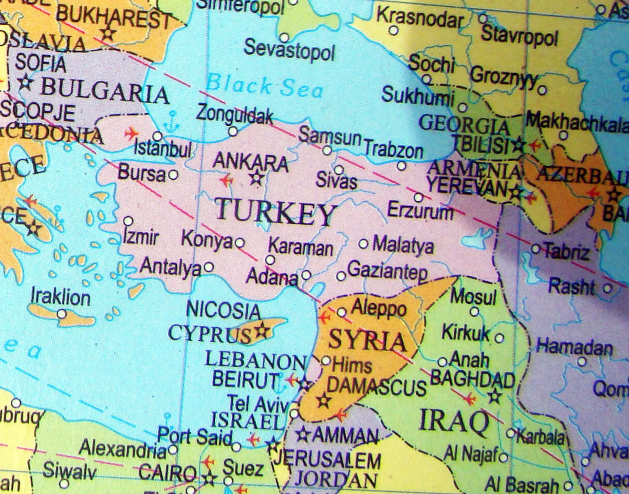 Picture of: Map Turkey